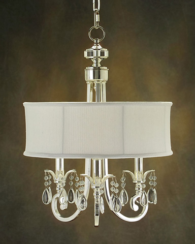 John Richard Collection - Three Light Chandelier - AJC-8456