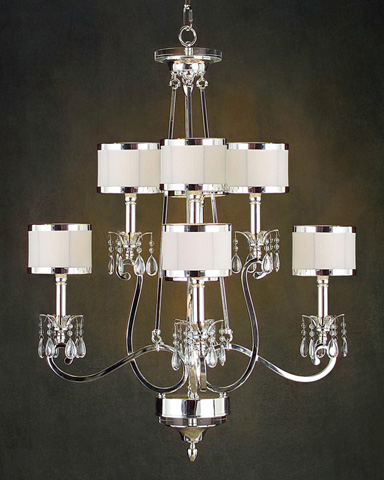 John Richard Collection - Eight Light Chandelier - AJC-8470