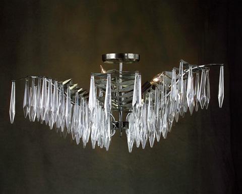 John Richard Collection - Three Light Flush Mount - AJC-8547