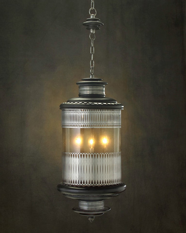 John Richard Collection - Three Light Pendant - AJC-8555