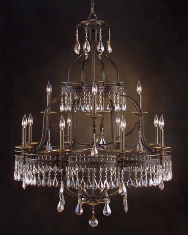 John Richard Collection - Twelve Light Chandelier - AJC-8684