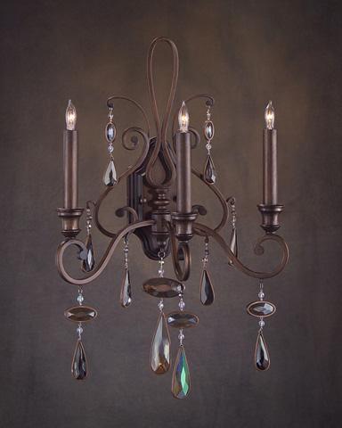 John Richard Collection - Three Light Sconce - AJC-8720