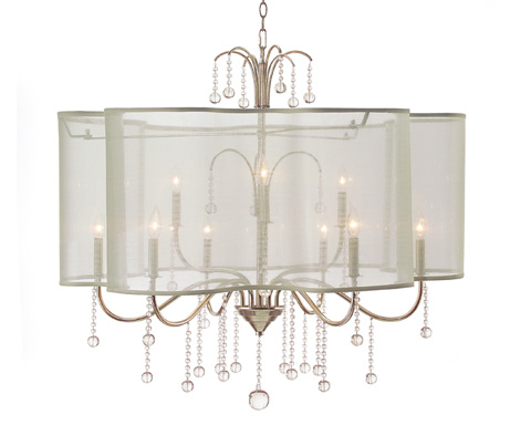 John Richard Collection - Nine Light Chandelier - AJC-8743
