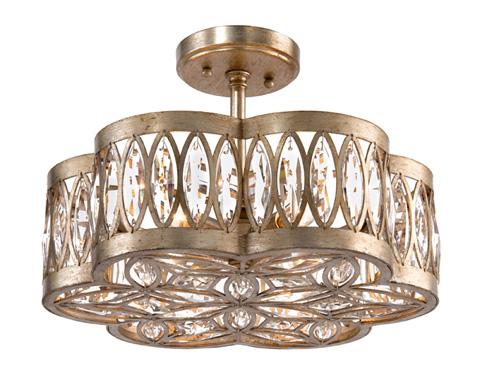 John Richard Collection - Six Light Diamante Semi Flush Mount - AJC-8792
