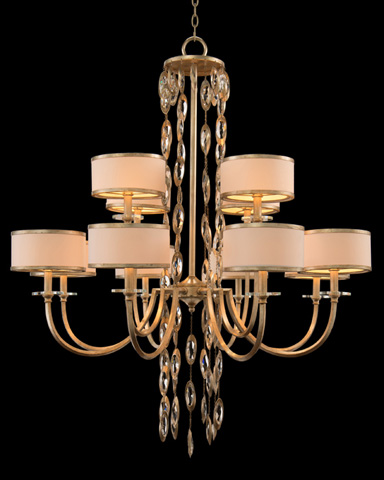 John Richard Collection - Twelve Light Counterpoint Chandelier - AJC-8816