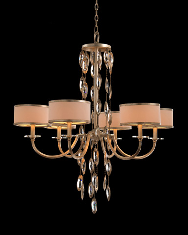 John Richard Collection - Six Light Counterpoint Chandelier - AJC-8817