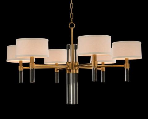 John Richard Collection - Six Light Glass Spear Chandelier - AJC-8828