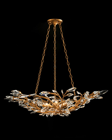 John Richard Collection - Eight Light Diaphanous Chandelier - AJC-8829