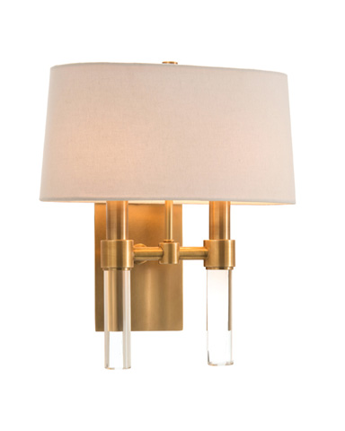 John Richard Collection - Two Light Glass Spear Sconce - AJC-8831