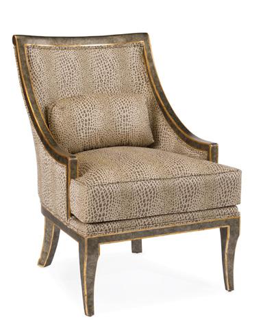John Richard Collection - Barrel Back Chair - AMF-1005V10-G644-AS