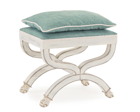 John Richard Collection - Brienne Stool - AMF-1179V32-C388-AS