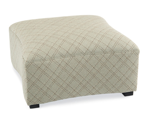 John Richard Collection - Concaved Ottoman - AMQ-1202-1011-AS