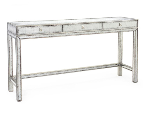 John Richard Collection - Silver and Eglomise Console - EUR-02-0060