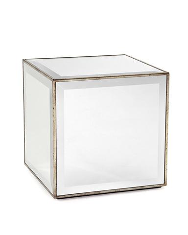 John Richard Collection - Mirror Cube Side Table - EUR-03-0230