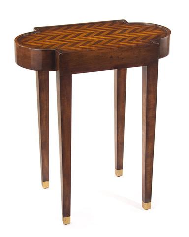 John Richard Collection - Herringbone Side Table - EUR-03-0333