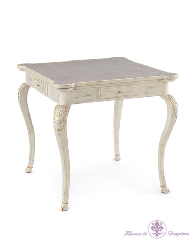 John Richard Collection - De Wolf Card Table - EUR-03-0369