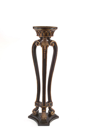 Image of Ebonized and Gilded Stand