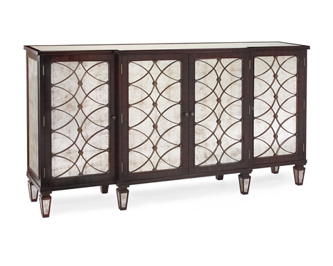 John Richard Collection - Rgncy Grillwork Cabinet - EUR-04-0054