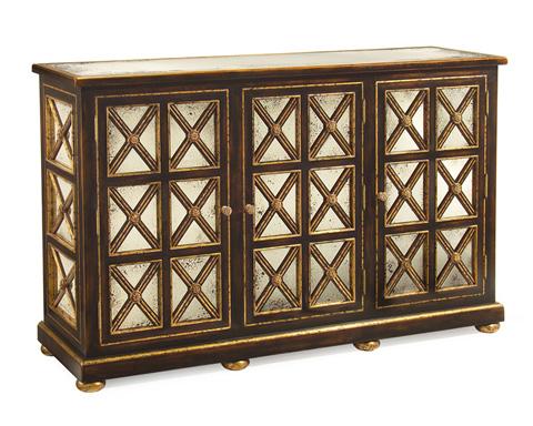 John Richard Collection - Pinehurst 3 Door Cabinet - EUR-04-0105