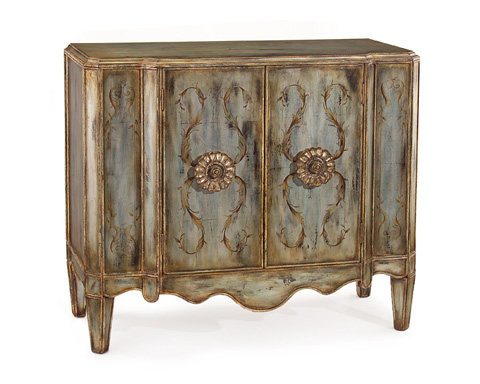 John Richard Collection - Lotus 2 Door Cabinet - EUR-04-0192