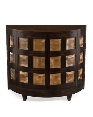 Image of Smoked Demilune Cabinet