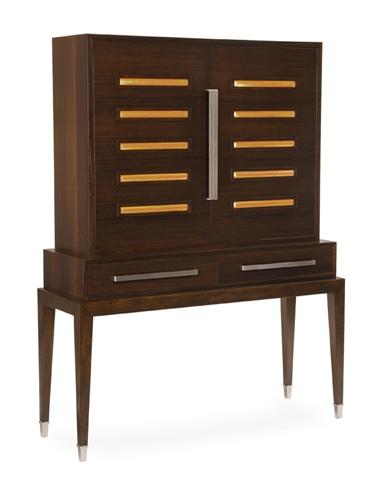John Richard Collection - Smoked Bar Stand - EUR-04-0230
