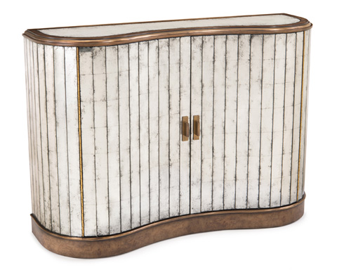 John Richard Collection - Curved Eglomise Sideboard - EUR-04-0267