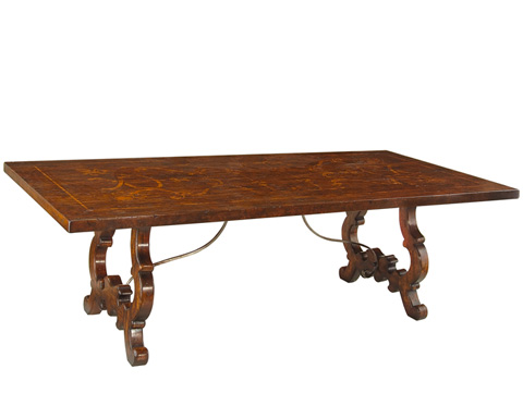 John Richard Collection - Tuscan Chateau Dining Table - EUR-10-0003