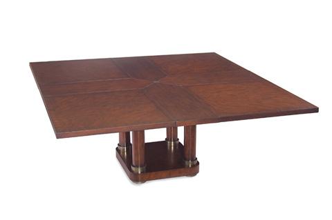 John Richard Collection - Athena Square Extending Table - EUR-10-0011