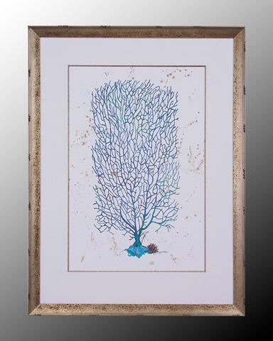 John Richard Collection - Blue Coral I - GBG-0305A