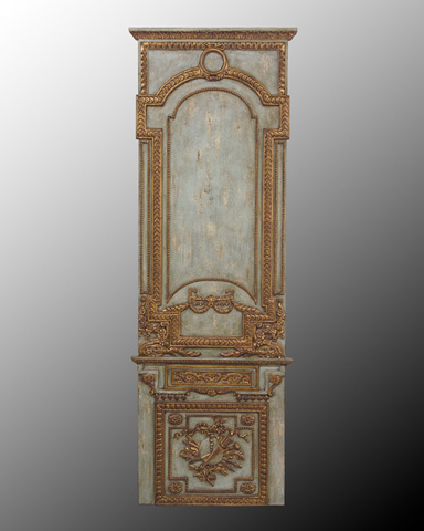 John Richard Collection - Wood Panel with Gld Accents II - GBG-0453B