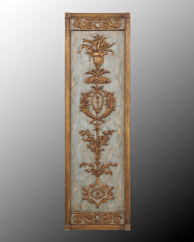John Richard Collection - Hand Carved Wood Panel l - GBG-0455A