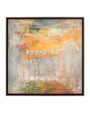 John Richard Collection - Repeating Tulips Sunrise - GBG-0725
