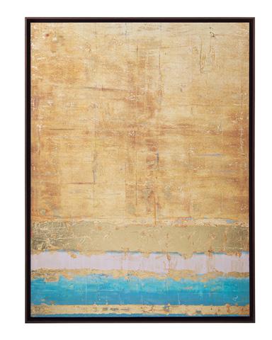 John Richard Collection - Stuart Ware's Aqua & Gold - GBG-0832