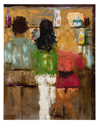 John Richard Collection - At the Bar by Amber Ivey Lane - GBG-0860