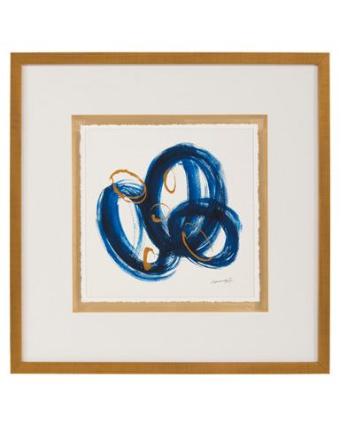 John Richard Collection - Dyann Gunter's Blue and Gold II - GBG-1055B