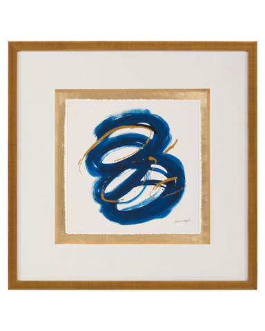 John Richard Collection - Dyann Gunter's Blue and Gold III - GBG-1055C