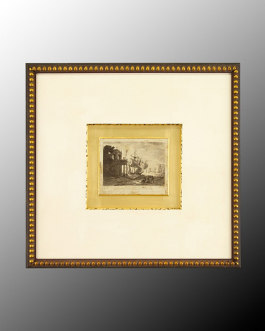 John Richard Collection - Antique Harbor IV - GRF-4994D