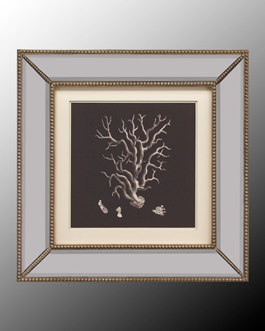 John Richard Collection - Black and Tan Coral I - GRF-5118A
