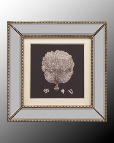 John Richard Collection - Black and Tan Coral II - GRF-5118B