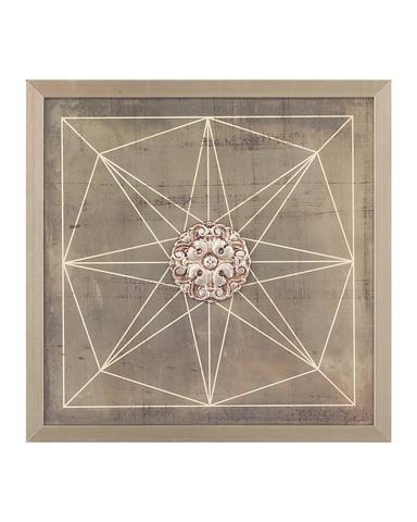 John Richard Collection - Geometric Blueprint II - GRF-5415B