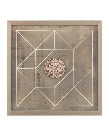 John Richard Collection - Geometric Blueprint III - GRF-5415C
