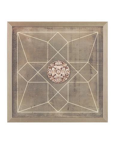 John Richard Collection - Geometric Blueprint IV - GRF-5415D