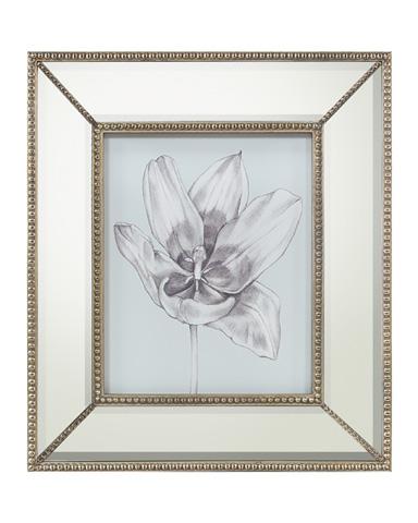 John Richard Collection - Silvery Blue Tulips II - GRF-5439B