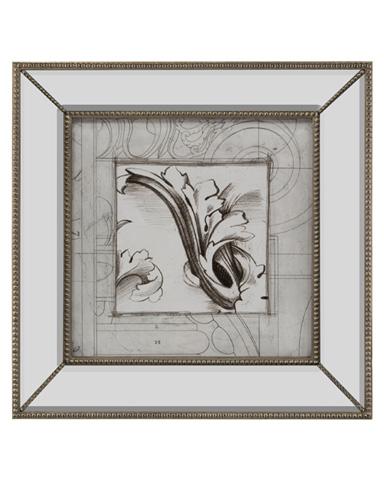 John Richard Collection - Embellished Acanthus Detail II - GRF-5486B