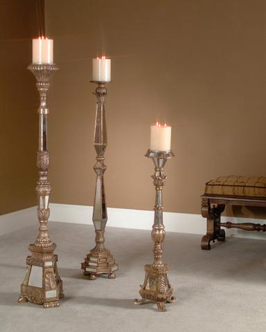 John Richard Collection - Mirror Candlesticks - JRA-5552