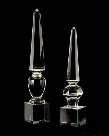 John Richard Collection - Lead Crystal Obelisk - JRA-7926
