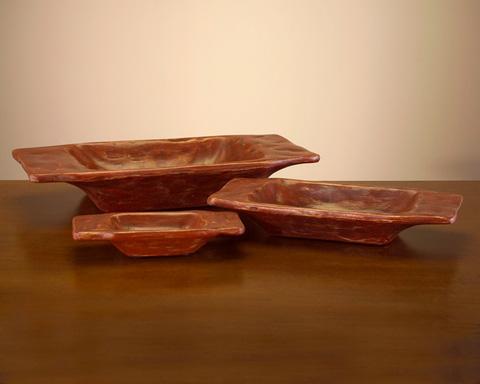John Richard Collection - Rustic Wooden Dough Bowls - JRA-8020S3