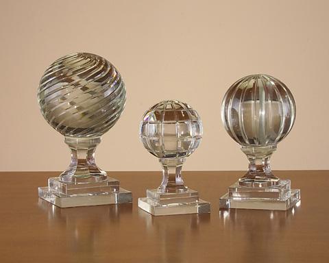 John Richard Collection - Crystal Newel Port Finials - JRA-8078S3
