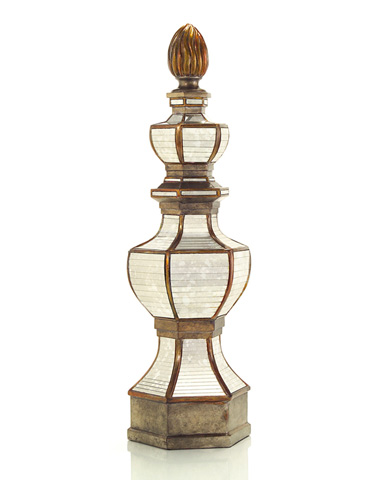 John Richard Collection - Mirrored Grand Scale Finial - JRA-8435